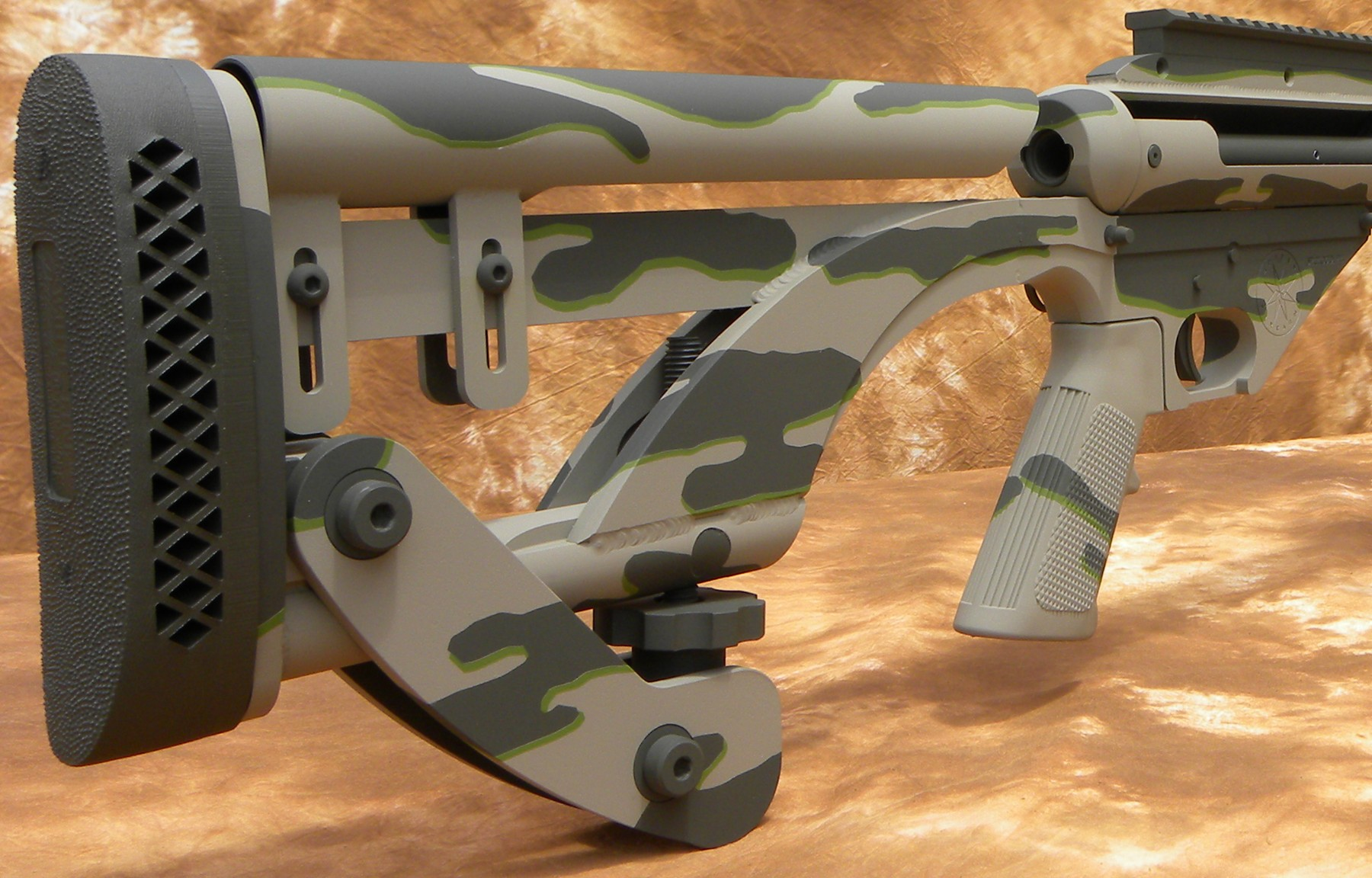 the ferret50 50bmg rifle conversion for the ar 15