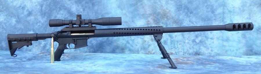 Ferret50 by Spider Firearms -  50BMG conversion for the AR